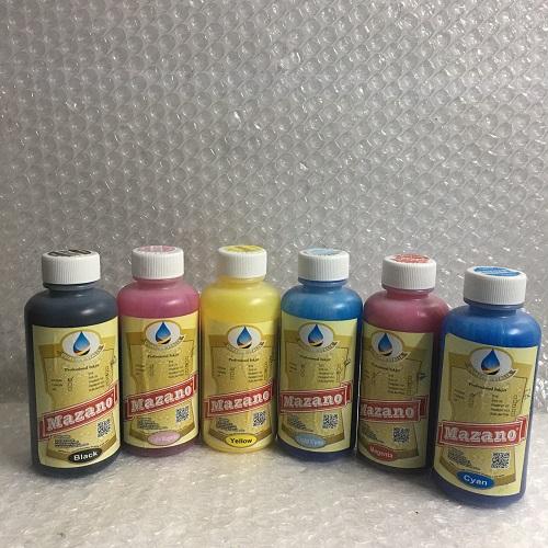 Bộ 6 màu mực in Mazano chuyên dùng cho máy Epson
