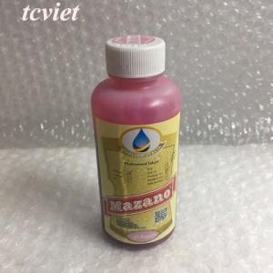 Mực in chuyển nhiệt Pigment UV Mazano - Màu đỏ nhạt