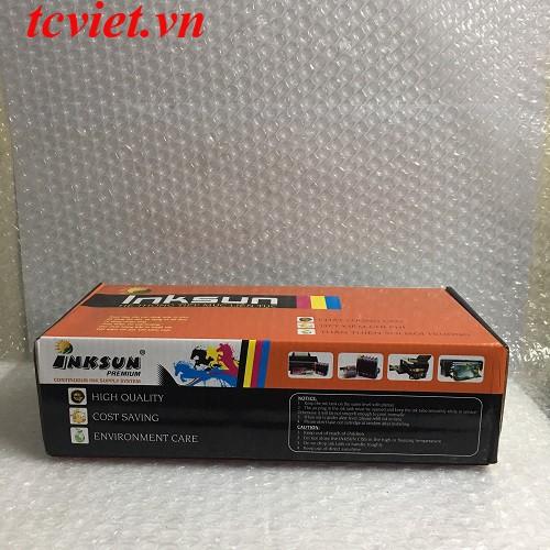 Bộ tiếp mực ngoài cho máy in Epson T60-1390 có mực TC Việt
