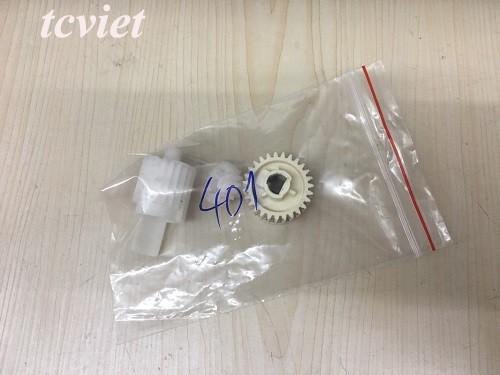 Bộ bánh răng cụm sấy HP 401 bóc máy