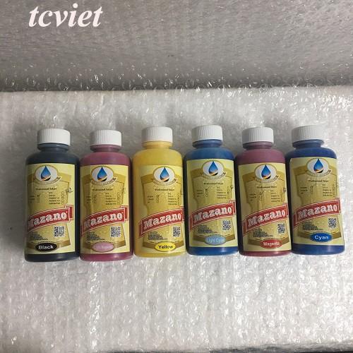 Mực in chuyển nhiệt Pigment UV Mazano chính hãng